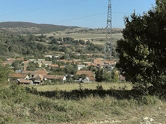 Coronini - Panorama of Sfânta Elena