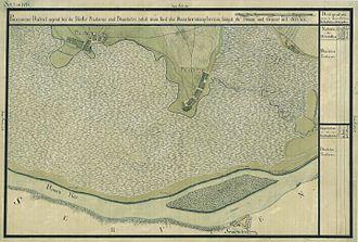 Banatski Brestovac - National Archives of Austria, Map of the Josephinian Land Survey (1769-1772)