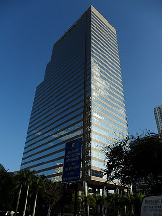 701 Brickell Avenue - 701 Brickell Avenue as seen from Brickell Avenue
