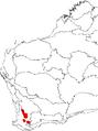 Banksia stuposa map.png