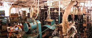 MV Baragoola - Image: Baragoola Internal Control Room
