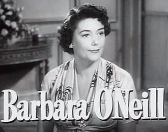 Barbara O'Neil - O'Neil in Angel Face trailer (1953)