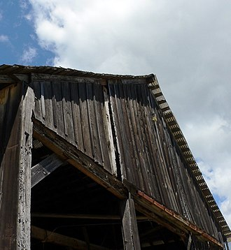 Cowell Lime Works - Image: Barn, UCSC