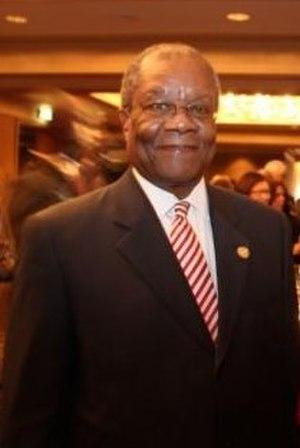 Barnabas Sibusiso Dlamini - Dlamini at CHOGM 2011