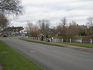 Ashtead - Image: Barnett Wood Lane, Ashtead geograph.org.uk 323378