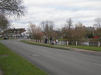 Ashtead - Image: Barnett Wood Lane, Ashtead geograph.org.uk 323378