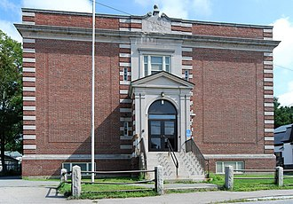 National Register of Historic Places listings in Taunton, Massachusetts - Image: Barnum School Taunton