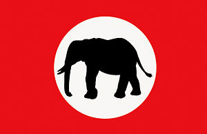 Confederation of Independent Football Associations - Image: Barotseland Royal Flag