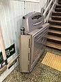 Barrier-free facilities at Exit B of Beijing Subway Andingmen Station.jpg
