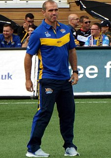 Barry Eaton English RL coach and former Wales international rugby league footballer