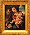 Bartolomeo ramenghi detto il bagnacavallo, madonna col bambino e san francesco, 01.jpg