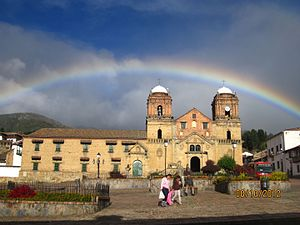 Cuchavira - Image: Basilica nuestra señora de mongui