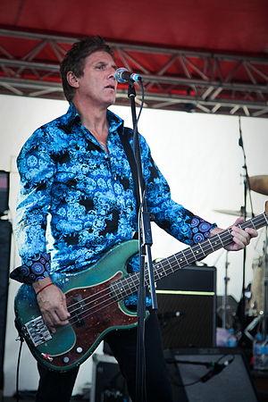 Richard Grossman (bassist) - Bass guitarist Richard Grossman at Rottnest Island, April 2012