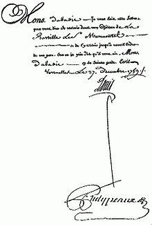 d lettre Lettre de cachet   Wikipedia d lettre