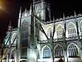 Bath Abbey, north side at night - geograph.org.uk - 658922.jpg