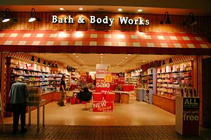 Bath and Body Works store in Ohio