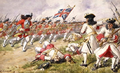 Battle of Ramillies, the 16th Foot charging the French Infantry.png