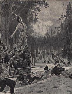 Battle of Trangen 1808 battle in Norway