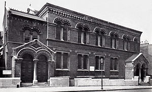 Bayswater Synagogue - The former synagogue building.
