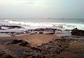 Beach on a Rainy day at Bheemili.jpg