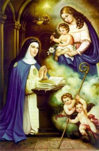 Beatrice of Silva - The apparition of the Blessed Virgin Mary to Saint Beatrice da Silva
