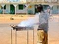 Beef barbecue in Burkina Faso, 2009.jpg
