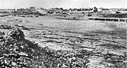 Beersheba in 1917, when the Australian 4th & 12th Light Horse conquered the city from the Ottoman Turks in World War I