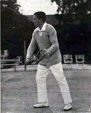 Hungarian Tennis Championships - Image: Bela Kehrling 1914