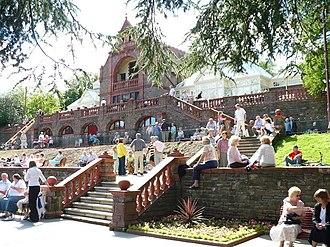 Belle Vue Park - The Pavilion