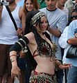 Belly dancer at Venice Beach, CA.jpg