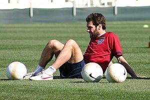 Ben Olsen - Olsen during practice at SAS Soccer Park before a match against Jamaica