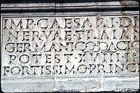 Beneventum, Arch of Trajan (III) (4749426050).jpg
