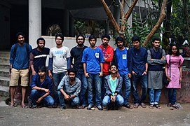 Bengali Wikipedians at Wikipedia 15 good article edit-a-thon and adda, Chittagong 2 (40).jpg