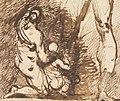 Benjamin Robert Haydon - Study of Two Figures and Two Legs - B1977.14.2664 - Yale Center for British Art.jpg
