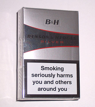 Philip Morris International - Image: Benson & Hedges Silver 20