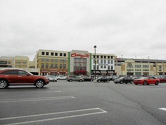 Paramus, New Jersey - The Outlets at Bergen Town Center