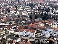 Bergzabern - Blick auf Kirche.JPG