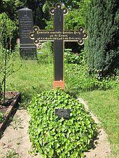 Das Ehrengrab der Henriette Herz in Berlin (Quelle: Wikimedia)