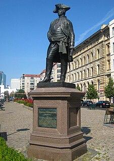 Statue of Hans Karl von Winterfeldt