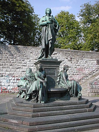 Reinhold Begas - Monument to Friedrich Schiller (bronze version)