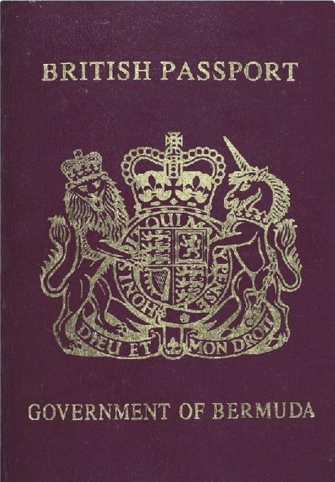 Bermuda passport