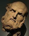 Bernini cabeza para la Cathedra Petri. 01.JPG