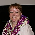 Beth Lurvey (NAVFAC Pacific Inspector General) Says Farewell During Coffee Hour - Feb. 6, 2014 (12351093083) (cropped).jpg