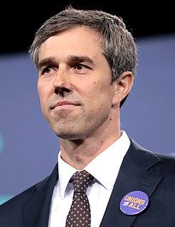 Beto ORourke American politician