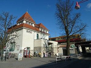 Zepernick station - Image: Bf Zepernick