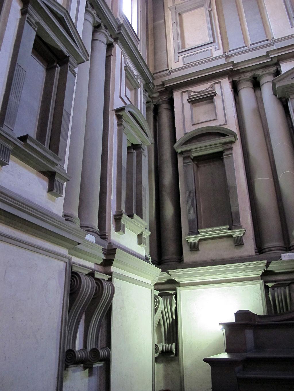Biblioteca laurenziana, vestibolo, Basilica of San Lorenzo, Firenze