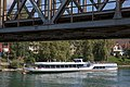 """Bielerseeschiff """"Rousseau"""" an der Haltestelle Brügg BE.jpg"""