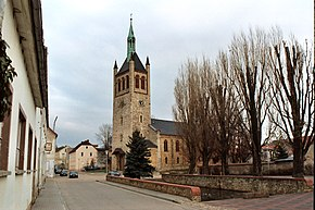 Biere (Bördeland), the church Saint Andrew.jpg