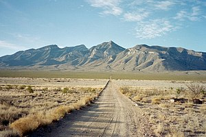 Big Hatchet Mountains - Image: Big hatchet peak