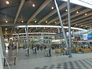 Billund Airport - Check-in hall